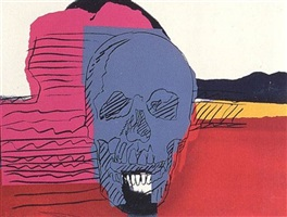 skulls [ii.159] by andy warhol